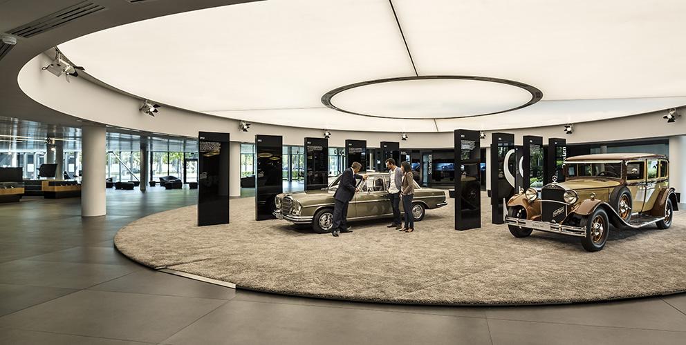 Mercedes-Benz Kundencenter Sindelfingen Ausstellung
