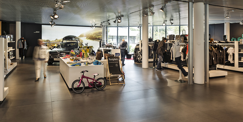 Mercedes-Benz Kundencenter Sindelfingen Shop