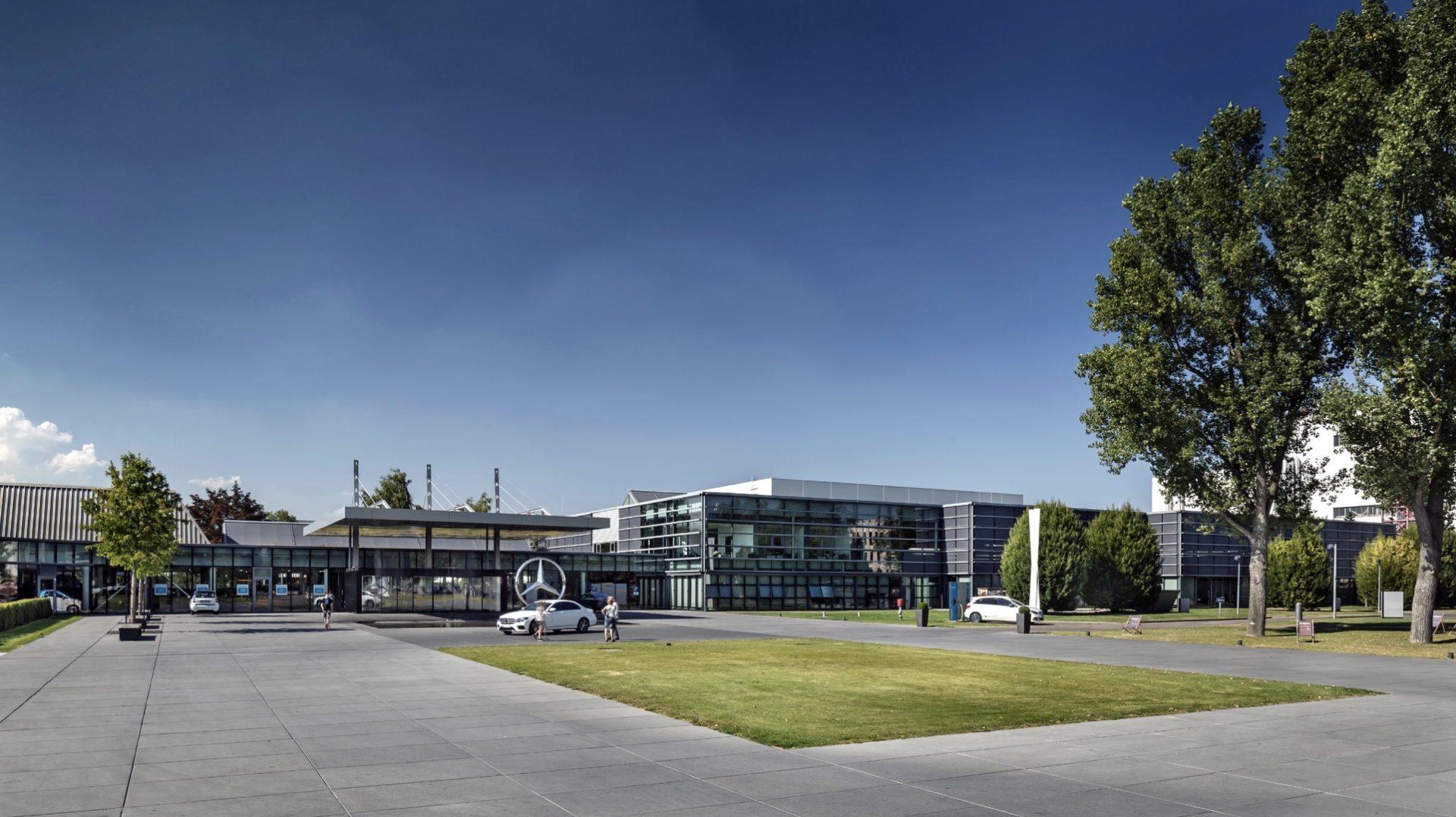 Mercedes-Benz Kundencenter Sindelfingen Außenansicht