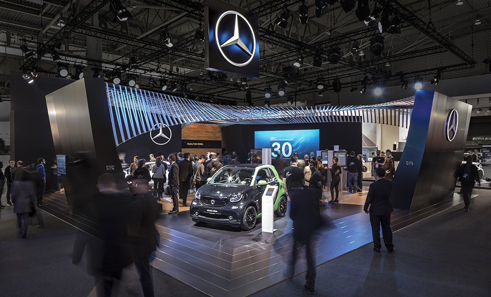 Mercedes-Benz MWC 2017 Barcelona