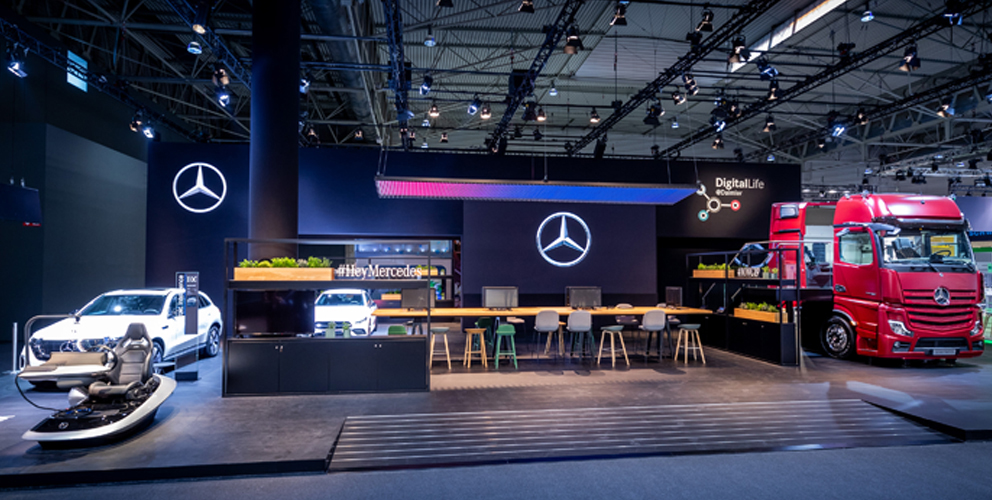 Mercedes Benz MWC Barcelona 2019