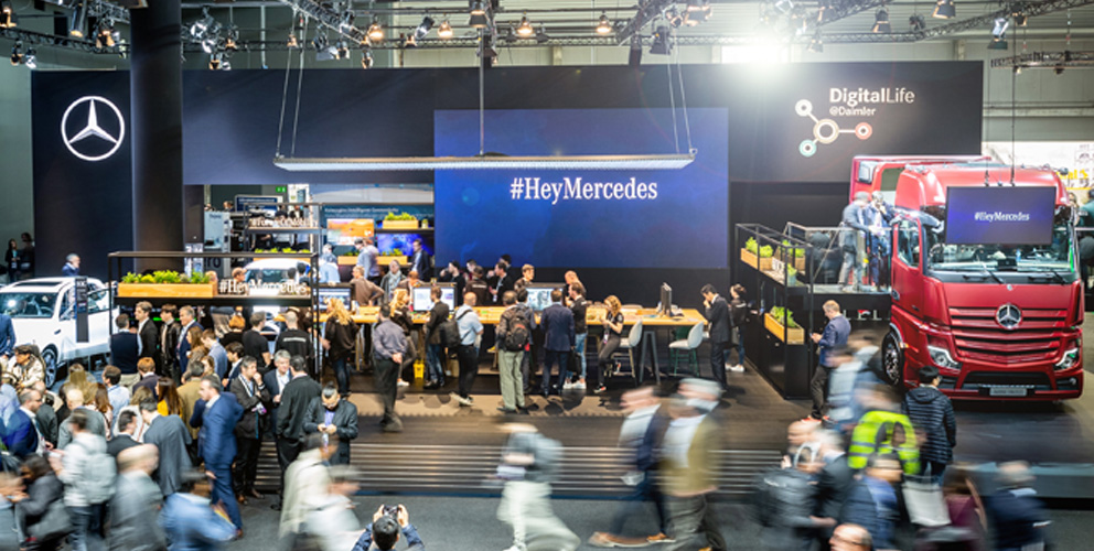 Mercedes-Benz MWC 2019 Barcelona